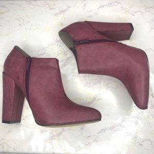 Michael Antonio Mauve Pink Heeled Booties 9